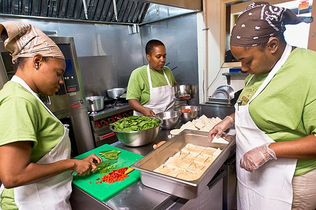 Detroit Vegan Soul Food Restaurant